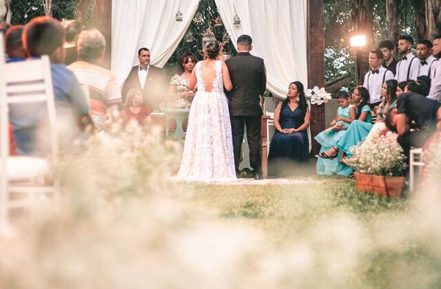fine wedding ceremony