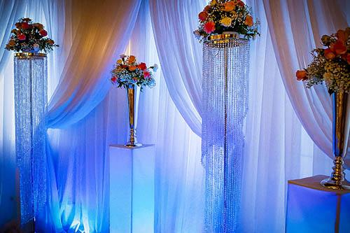 Blumen Ständer für Brautpaartisch
