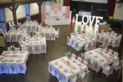 Exklusive Hochzeitsdekoration