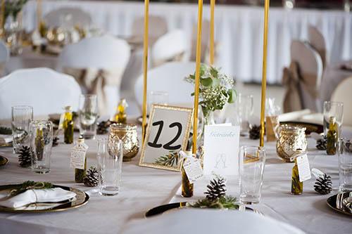 Hochzeitsdekoration in Nürnberg