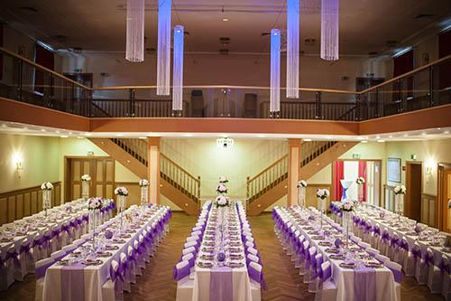 Hochzeitssaal Dekoration